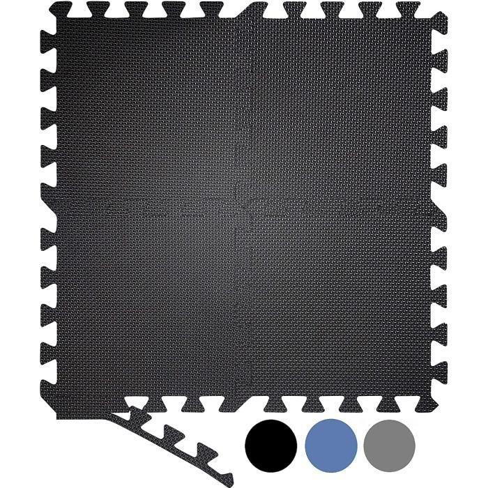TAPIS DE SOL Lot de 20 grands tapis de sol en mousse embo&icirctables - Tapis de gymnastique - Tapis de sol pour entra&icircn1