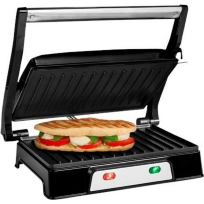 grill viande pro electrique de contact paninis croque monsieur pro inox