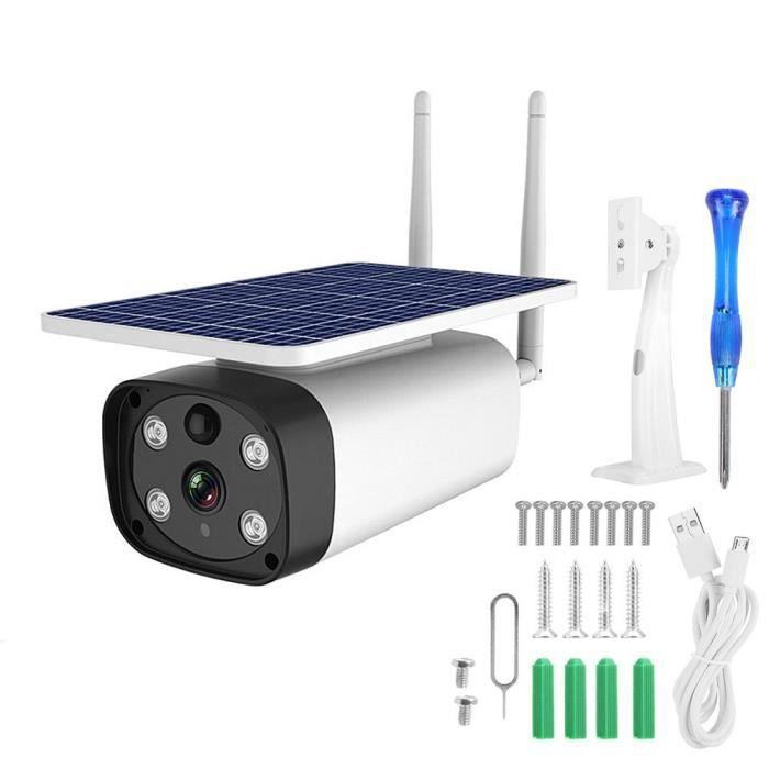 4G 1080P 5W énergie solaire IP67 IR-CUT Starlight caméra de vision nocturne caméra couleur extérieure (bande européenne)-CHE