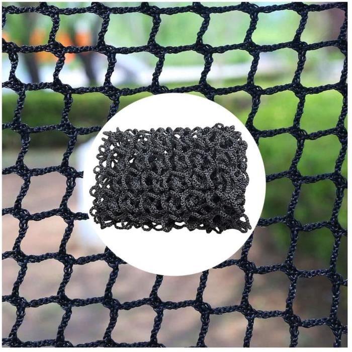 Filet de Protection Escalier, Filet De Balcon, Filet D'escalier Noir Porte De Rampe De Garde-corps Filet De Sécurité Filet De [394]