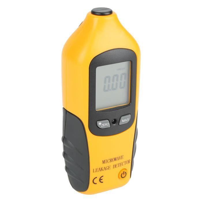 Compteur de fuites à micro-ondes, détecteur de micro-ondes, écran LCD Facile à transporter Portable de haute précision pour