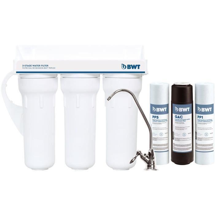 BWT filtre à eau de boisson triplex