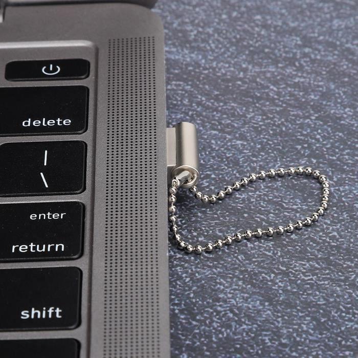 EJ.life Disque U pour Windows Clé USB de stockage de mémoire accessoire pour PC portable en alliage de zinc portable pour Vista /