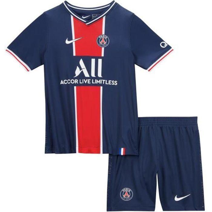 Mini Kit PSG Domicile 2020/2021 Junior 100 % Polyester