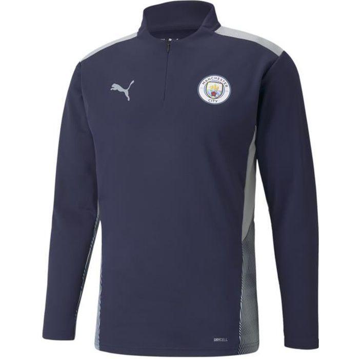 Sweatshirt Manchester City Training 2021/22 - bleu marine/gris clair - S