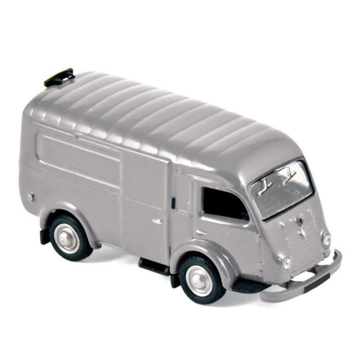 Miniatures montées - Renault 1000Kg gris 1953 1/87 Norev