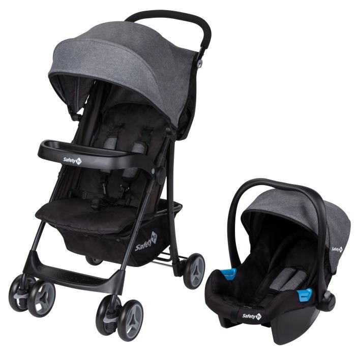 SAFETY FIRST Poussette Nice Ride 2 In 1 Black Chic