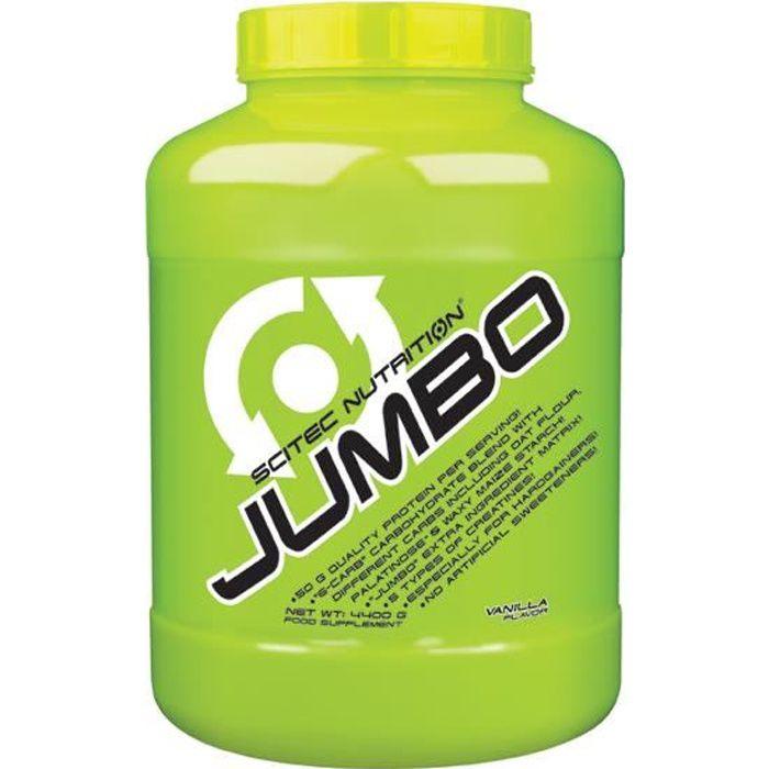 Scitec Jumbo 4400g VANILLE 4,4kg Proteine Gainer