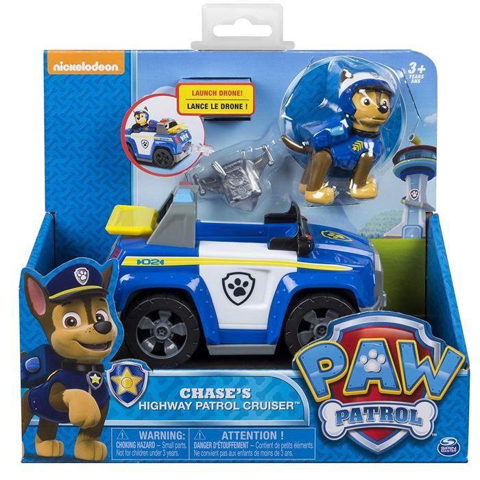 Véhicule de croiseur de police de route de Chase Patrol Chase avec la figure