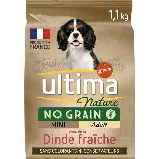 ULTIMA Croquettes à la dinde pour chiens - 1,1 kg