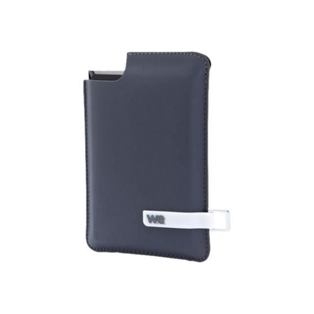 WE SSD externe - 120Go - Noir/Bleu - Housse bleue