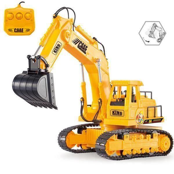 CAMION ENFANT RC Excavatrice Camion 1:45 6 canaux Bulldozer Modè