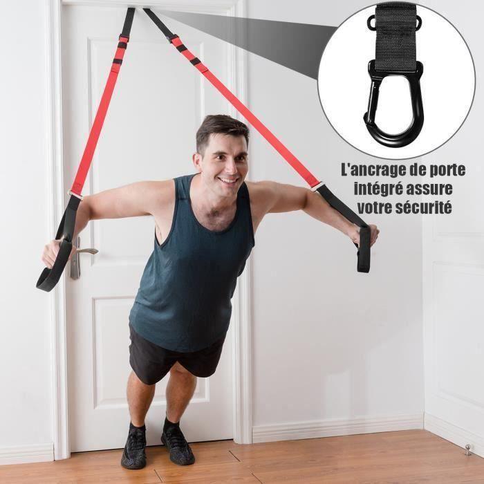 Home Gym Suspension Résistance Résistance FORMATION BRETELLES entraînement Baskets Fitness