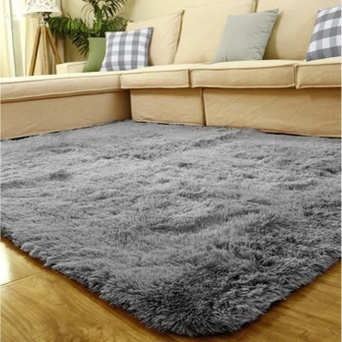 Tapis chambre tapis salon carpet d enfant shaggy moquette yoga anti d rapage absorbant velours - Tapis de salon but ...