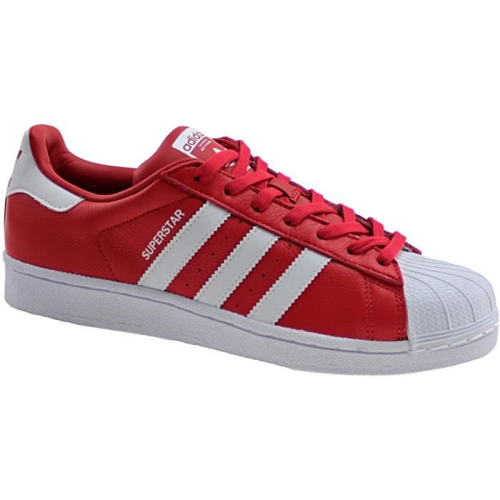 Adidas Superstar Toute Rouge