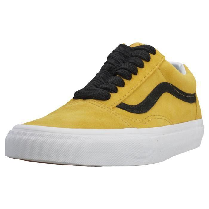 vans couleur jaune