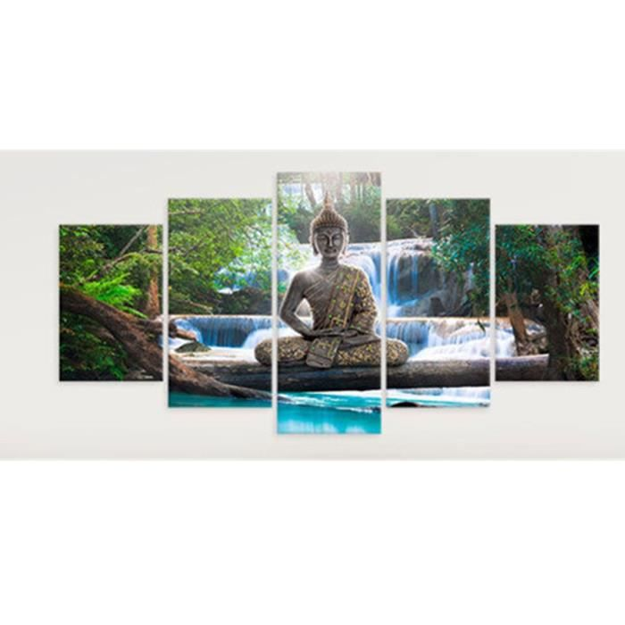 Large Turquoise Arbre Toile Impression Peinture Art Photo Wall Home Decor non encadrés
