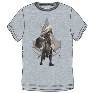T-SHIRT T-Shirt Assassin's Creed Origins: Bayek - Gris