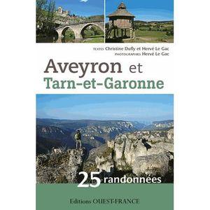 GUIDES RANDONNÉES Aveyron et Tarn-et-Garonne