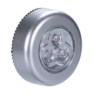 6 Leds 2835 SMD Veilleuse Touche Presse Magnétique Pile Lampe Murale