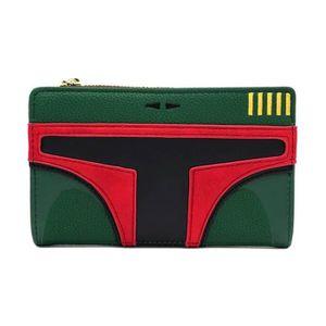 Star wars chewbacca coffret portefeuille poche monnaie id titulaire de en cuir synthétique rétro film