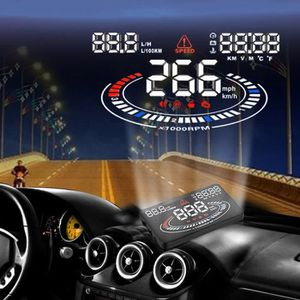 AFFICHAGE PARE-BRISE Compteur vitesse AUTONOME GPS Affichage Tete Haute
