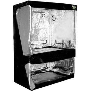 CHAMBRE DE CULTURE DUAL BlackBox Silver 120 x 80 x 200 cm