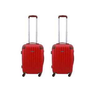 SET DE VALISES Lot de 2 valises cabines Worldline 55 x 35 x 23 cm