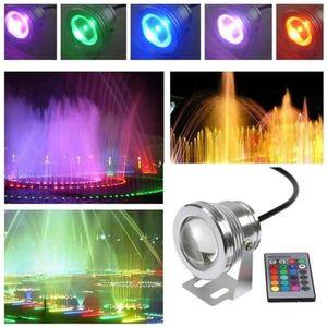 Projecteur /à led multicolore pour piscine enterr/ée 12 V Gre PLREC 27 W