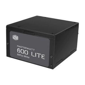 ALIMENTATION INTERNE Cooler Master Alimentation MasterWatt Lite 600 - 6