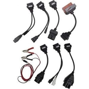 OUTIL DE DIAGNOSTIC Kit 8pcs OBD2 Câble d'adaptateur,Diagnostic Auto D