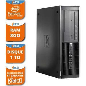 ORDI BUREAU RECONDITIONNÉ ordinateur de bureau HP elite 6000 dual core 8 go