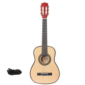 GUITARE LMP Guitare classique naturel 75 cm + sangle + méd