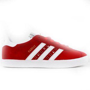 Adidas rouge femme - Cdiscount
