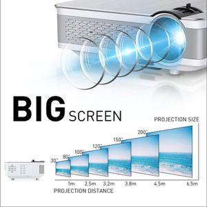 Vidéoprojecteur Vidéoprojecteur Full HD-Projecteur Portable 4K Tra