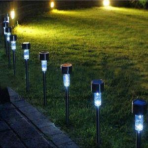Plastique translucide Globo Lighting Lampe solaire inox avec libellule IP44