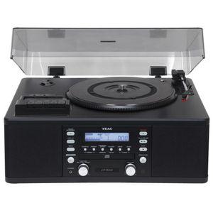 CHAINE HI-FI LP-R550USB PLATINE VINYLE/RADIO CASSETTE/GRAVEUR C