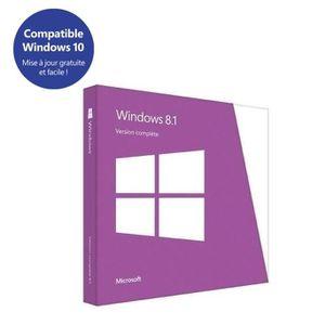 SYSTÈME D'EXPLOITATION Windows 8.1 OEM édition 64 Bit