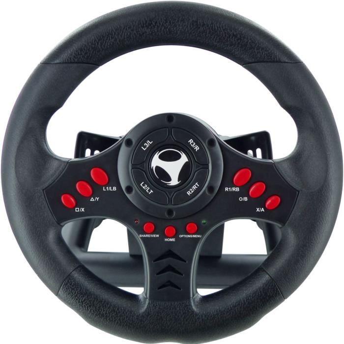 PÉDALE POUR CONSOLE Subsonic - Volant Racing Wheel Universal, palettes