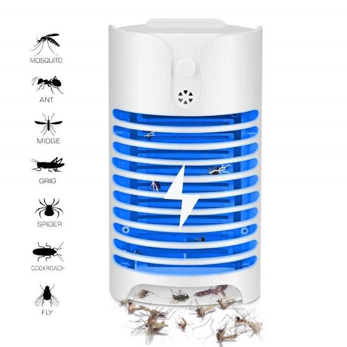 Bug Zapper électrique avec piège à lumière UV - Tueur de moustiques électronique