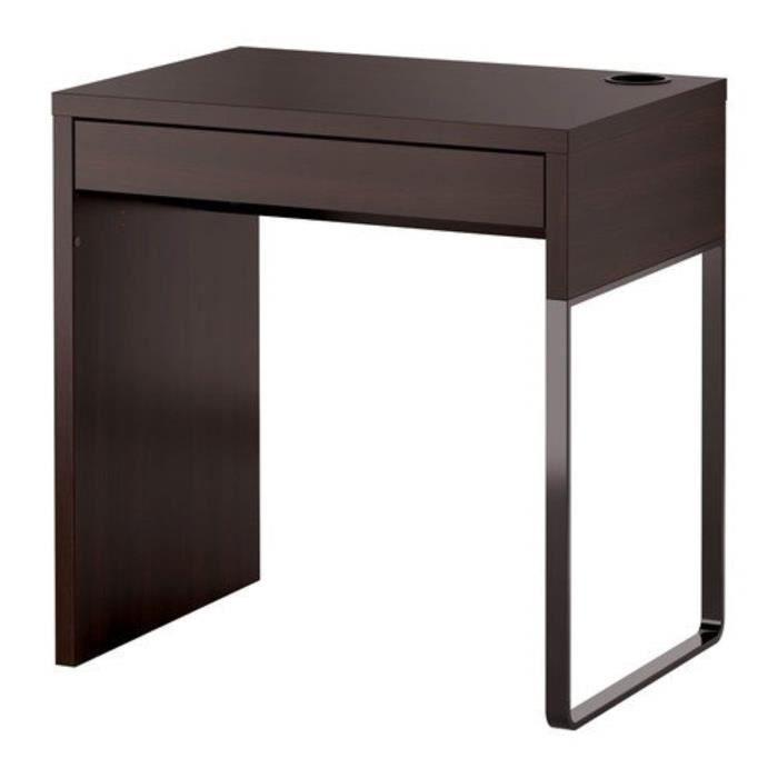 Coffret Multi-Jeux DQ2S0 MICKE - bureau, noir-brun - 73x50 cm