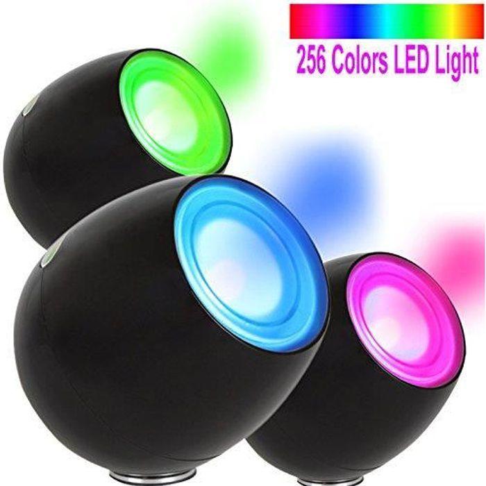 256 Living Color Lumière Noir