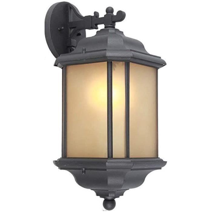 Lumières pour fontaine d'intérieur E-L Éclairage Mural Square European Outdoor Applique Murale Lumière Balcon Extérieur 109850