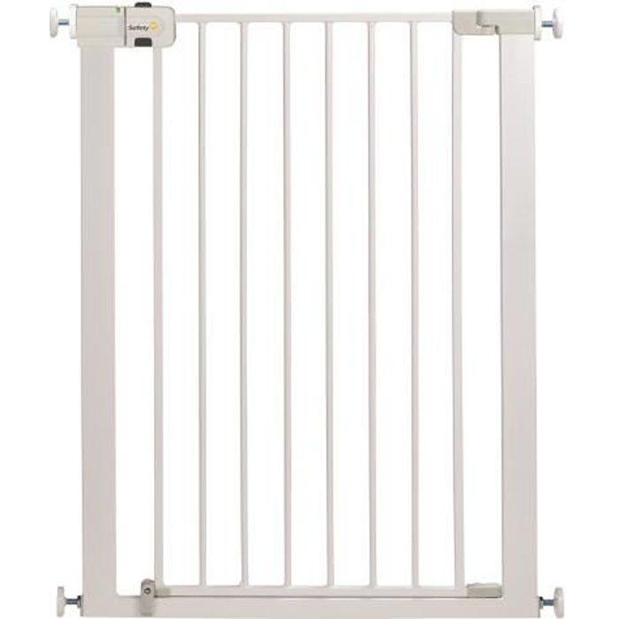SAFETY 1ST Barrière de sécurité enfant Easy Close Extra Tall - Métal - Blanc