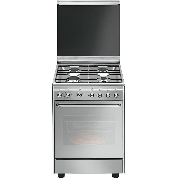 Smeg CX60SVPZ9 Autonome Cuisinière à gaz A Acier inoxydable four et cuisinière - Fours et cuisinières (Cuisinière, Acier inoxydable,