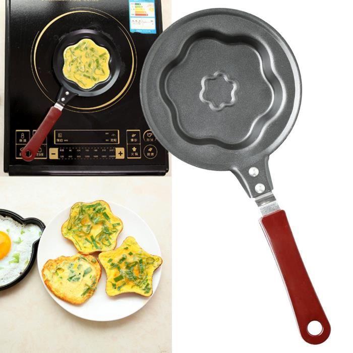 POÊLE - SAUTEUSE Set accessoire cuisine Poêle Omelette Poêle antiad