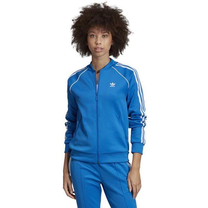 adidas ensemble femme bleu