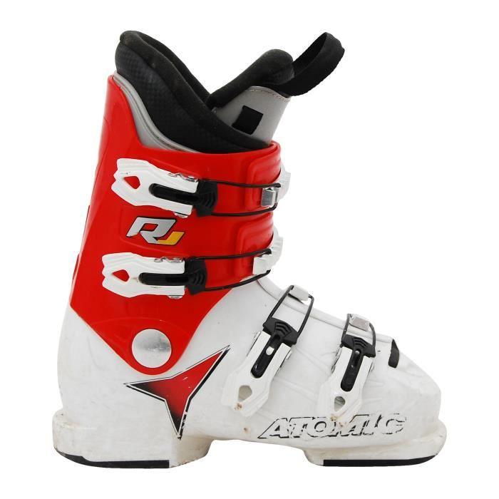 Chaussure de Ski Junior Atomic RJ blanc rouge