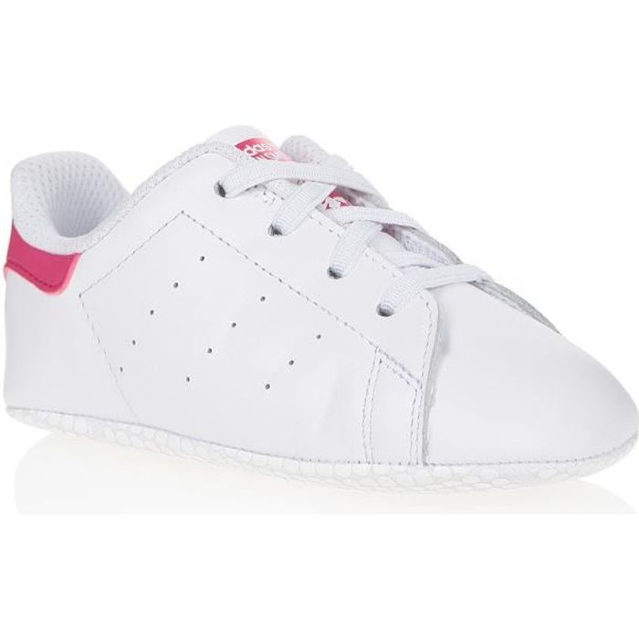 sports shoes 9f613 b5e8d ADIDAS ORIGINALS Baskets Stan Smith Bébé Fille Blanc