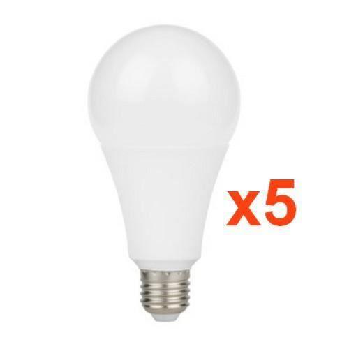 Pack Ampoules LED E27 C37 5W 5 Un Pack Ampoules LED E27 C37 5W